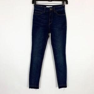 DL1961 Jeans 24 Farrow Instaslim Ankle Skinny Dark